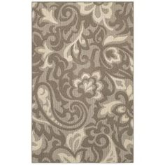 Mohawk Home, Forte Taupe/Ivory 2 ft. x 8 ft. Runner, 289836 at The Home Depot - Mobile