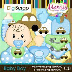 Baby Boy - $3.50 : DigiScrap Latino