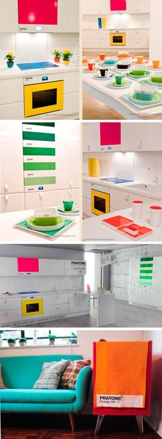 Pantone decoration. I've died and gone to heaven.