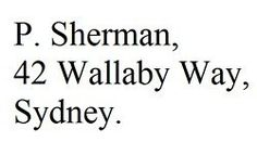 Find P. Sherman, 42 Wallaby Way, Sydney Tv Show Quotes, Movie Quotes, Finding Nemo 3, Finding Nemo Quotes, 42 Wallaby Way, Think Happy Thoughts, Meaningful Words, Everyone Knows, Make Me Smile