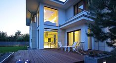 Z klasą 1 - realizacja 1 - DOMY Z WIZJĄ Construction, House Styles, Case, Home Decor, Home, Projects, Building, Decoration Home, Room Decor