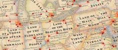 Ever Wonder What Your State's Name Means? This All-American Map Shows the Answers for All 50 States
