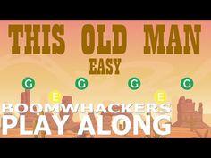 (9) This Old Man EASY - BOOMWHACKERS Play Along - YouTube Kindergarten Music, Teaching Music, Teaching Kids, Bucket Drumming, Music For Toddlers, Teaching Supplies, Primary Music, Brain Breaks, Elementary Music