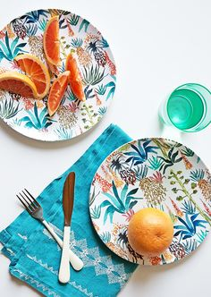 Plates by Justina Blakeney, made with Shutterfly #OurHomOurStory