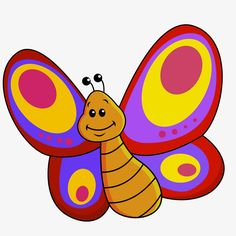 Cute cartoon butterfly vector, Butterfly Vector, Cartoon Butterfly, Hand-painted Cartoon Cute Butterfly PNG and Vector Easy Butterfly Drawing, Cartoon Butterfly, Butterfly Clip Art, Cute Butterfly, Diy And Crafts, Crafts For Kids, Clipart Images, Cute Cartoon, Coloring Pages