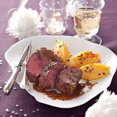 Découvrez la recette Rôti de biche, purée de patates douces sur cuisineactuelle.fr.