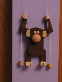 I made this climbing monkey based off the old climbing bear toy.