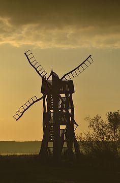 Daliesque Windmill, Texel, Netherlands Copyright: Kasia Nowak