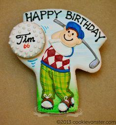 Golfer Cookies (Cookievonster)