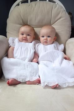 Have you ever?! We are totally smitten with these gorgeous cousins wearing their mommies' vintage gowns on their special day! We've got Grandma to thank for saving these beautiful heirlooms for 35 years!! ❤❤ Start your collection today! https://feltmanbrothers.com/special-occasion-gowns/?utm_source=Special+Occasion+Gowns+&utm_medium=Vintage+special+baptism+gown+heirloom&utm_campaign=Special+Occasion+Gown+Facebook+Post