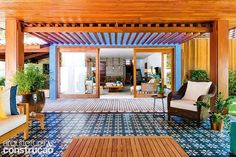 Casa no litoral baiano é a cara do verão   Arquitetura e Construção