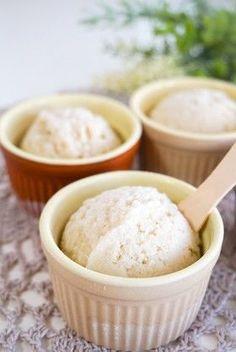 マクロビ☆メープル豆乳アイスクリーム Sweets Recipes, My Recipes, Vegan Recipes, Desserts, Gelato Ice Cream, Ice Cream Flavors, Macrobiotic Recipes, A Food, Food And Drink