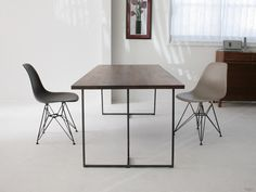 【楽天市場】杉山製作所 SUMI DINING TABLE 180(cc-wn)【スミダイニングテーブル/クロテツ/アイアン/岐阜県】:esprit lifestyle store