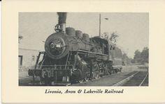 Livonia Avon & Lakeville Railroad New York by ParagonAlley on Etsy