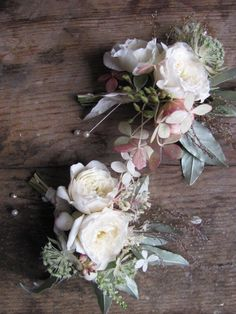 Corsages September http://thebluecarrot.co.uk
