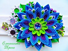 Amazing kanzashi by Elirina