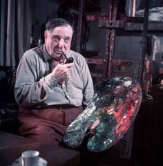 Maurice de Vlaminck was a French painter. Along with André Derain and Henri Matisse he is considered one of the principal figures in the Fauve movement, a group of modern artists who from 1904 to 1908 were united in their use of intense color.