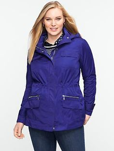 Talbots - Pearl Taffeta Anorak | Jackets | Woman $179 (also red)