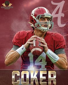 Jake Coker ladies and gentlemen. His 50-yard TD pass gives him 2 TDs and 280 yards passing on the night.  12/31/2015