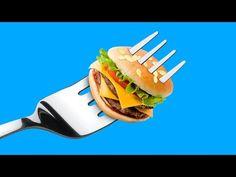 Огромная и миниатюрная еда – 6 идей - YouTube