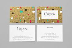 200 визиток с минималистским дизайном — Оди