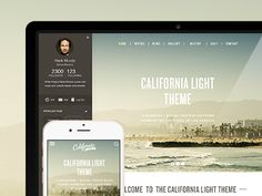 California Light & dark Theme preview by ruaridhcurrie
