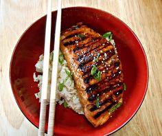 How To Cook Salmon: Teriyaki Grilled Salmon Salmon Dip, Asian Salmon, Honey Salmon, Salmon And Asparagus, Pan Seared Salmon, Grilled Salmon, Baked Salmon, Teriyaki Salmon
