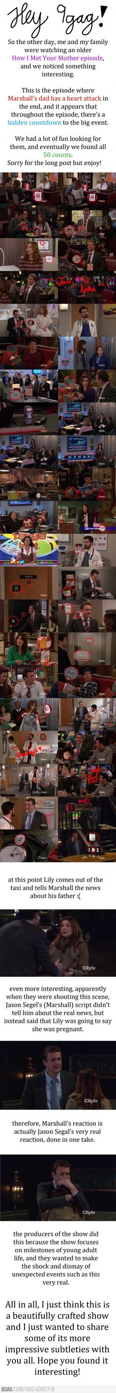 Hidden messages in How I Met Your Mother! I love this show so much! Amazing!!