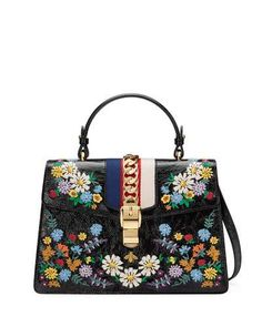 47f4a8a3662 Gucci for Women at Bergdorf Goodman. Gucci SylvieSatchel BagMe BagLeather  Shoulder ...