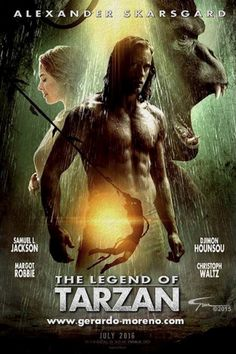 The Legend of Tarzan (2016) Full Movie Dvd
