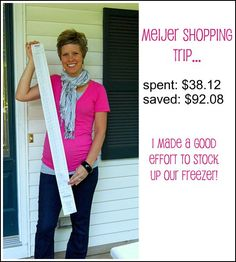 Tips on spending less in the grocery store from simple organized living