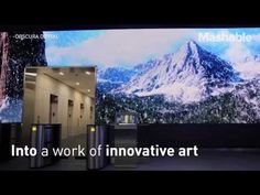Mashable   This might be the coolest office lobby ever - YouTube
