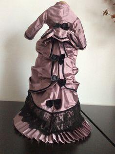 Dress for Antique French German Fashion Doll | eBay