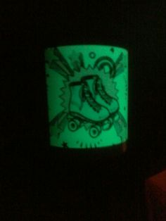 Tazas luminiscentes en Buenos Aires. Tazas personalizadas patín.
