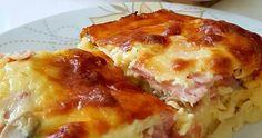 Εύκολο σουφλέ πατάτας με αλλαντικά μανιτάρια και τυρί που θα σας ξετρελάνει!!! Ταιριάζει σε οικογενειακά τραπέζια και σερβίρετε ζεστό!!!!... Greek Desserts, Greek Recipes, Cooking Recipes, Healthy Recipes, Mushroom Soup, Potato Recipes, Lasagna, Stuffed Mushrooms, Food And Drink