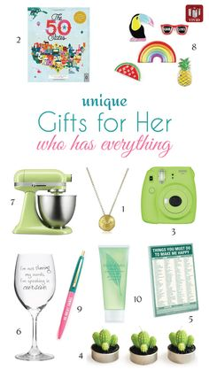 Gifts For Her Who Has Everything Mother S Day Unique Cool