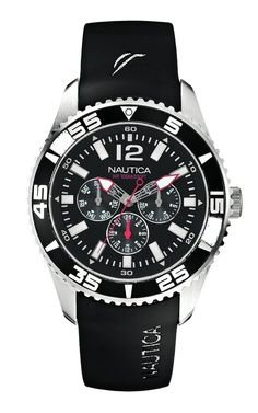 Nautica Men's Quartz Watch A12022G with Rubber Strap #NAUTICAMEN #NAUTICAWATCHES #AMAZONSHOPPING #MULTIWATCHBRAND
