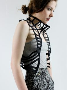 Haute Couture. Becca McCharen (Arch '06) is the head designer for Chromat.