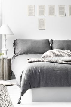 #StyleWithPassion.no ♥ it! #grey duvet cover