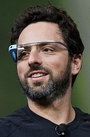 Sergey Brin - Computer Scientist, Internet Entrepreneur, Co-Founder of Google. Not too shabby!