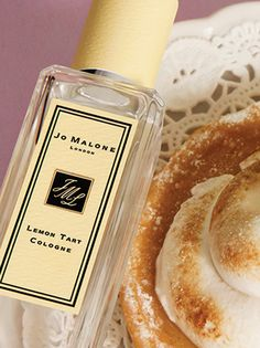 I am going to treat myself to this...Jo Malone Lemon Tart Cologne – Refreshing. The mouthwatering tang of lemon tart. Sparkling with citrus fruits and verbena, contrasted with swirls of meringue and lemon thyme