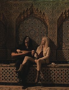 Tom Hiddleston as Adam in Only Lovers Left Alive, 2014.   With Tilda Swinton.