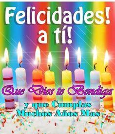 Celeste Birthday Wishes, Happy Birthday, Birthday Candles, Quotes, Frases, Happy Birthday Cards, Birthday Cards, Wedding Anniversary, Greeting Card