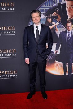 Colin Firth Photos - 'Kingsman: The Secret Service' Premieres in NYC - Zimbio