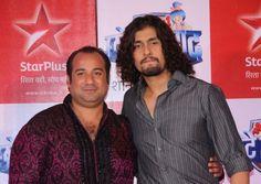 Rahat with Sonu Nigam Rahat Fateh Ali Khan, Sonu Nigam, Muslim, Singer, Amp, Fictional Characters, Singers, Islam, Fantasy Characters