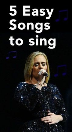 5 Easy Songs to Sing for Females. #Castingcall #Auditions #Singing #Songs #Singer #Tips