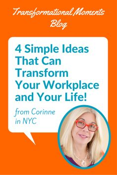 """I discovered a new way of life that was beyond my imagination and allowed for magic to happen. In the years following the workshop, I grew my business by over 80%..."" Read More: http://www.transformationmadeeasy.com/4-simple-ideas-that-can-transform-your-workplace-and-your-life/ #businessgrowth #success #workplace #businesstips"