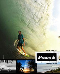 #tansworld #transworldsurf #pawa #pawasurf #surf #surfing #tuberide #brianconley # perfectwave
