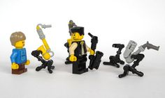 Musical Instruments : a LEGO® creation by Michael Jasper : MOCpages.com