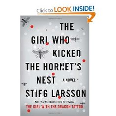 Final book of Dragon Tattoo Series. Read three books and wish there were more. :-(